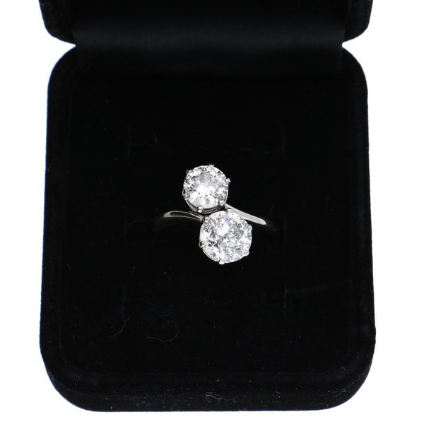 Double Love - Diamantring mit ca. 2,60 ct.